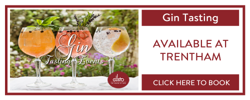 gin tasting at il Gusto Trentham