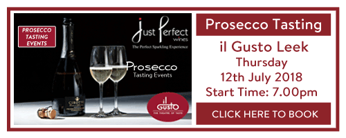 book prosecco event leek